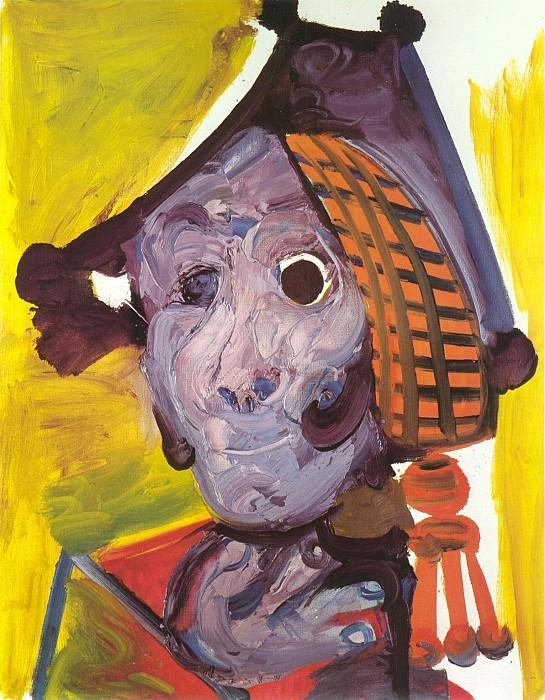 1970 TИte de matador. Pablo Picasso (1881-1973) Period of creation: 1962-1973