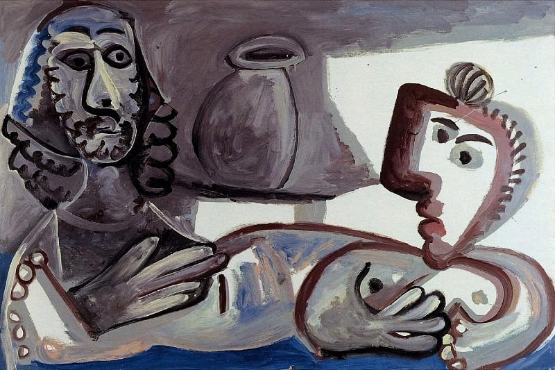 1970 Conversation. Pablo Picasso (1881-1973) Period of creation: 1962-1973