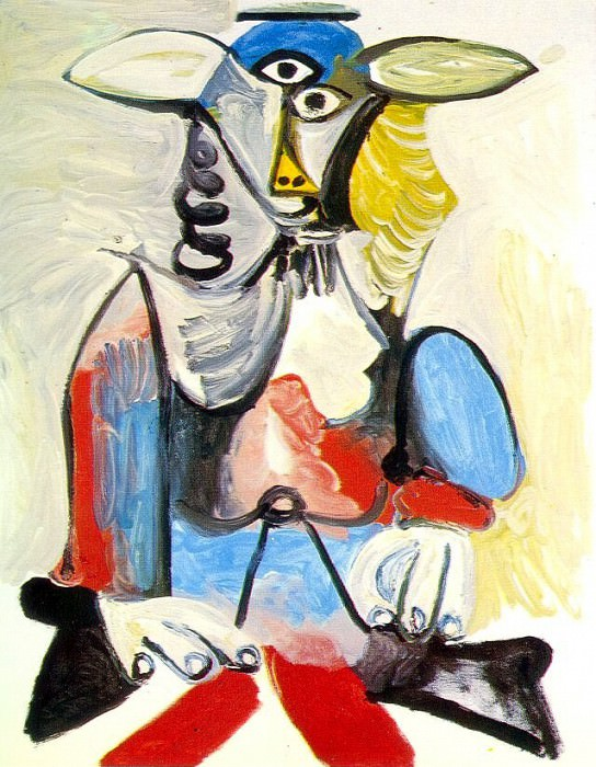1969 Personnage. Пабло Пикассо (1881-1973) Период: 1962-1973