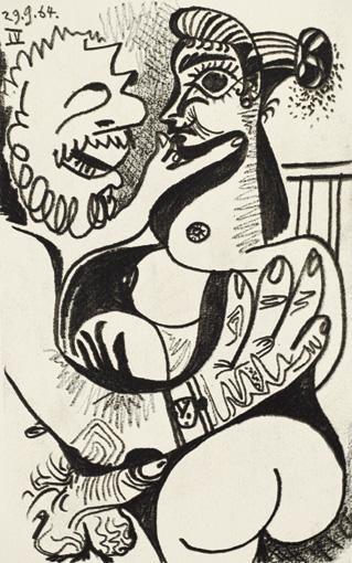 1964 Le goЦt du bonheur IV. Pablo Picasso (1881-1973) Period of creation: 1962-1973