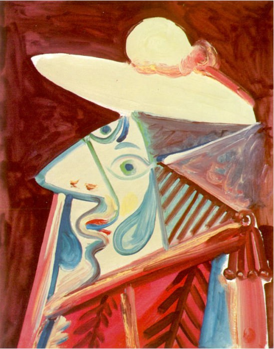 1971 Buste de picador. Пабло Пикассо (1881-1973) Период: 1962-1973