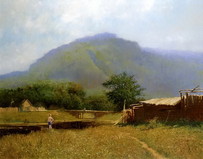 Morning in the Zhiguli Mountains. Afonin Alexander