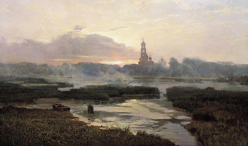 Утро Серафимо- Дивеевской Лавры. Афонин Александр