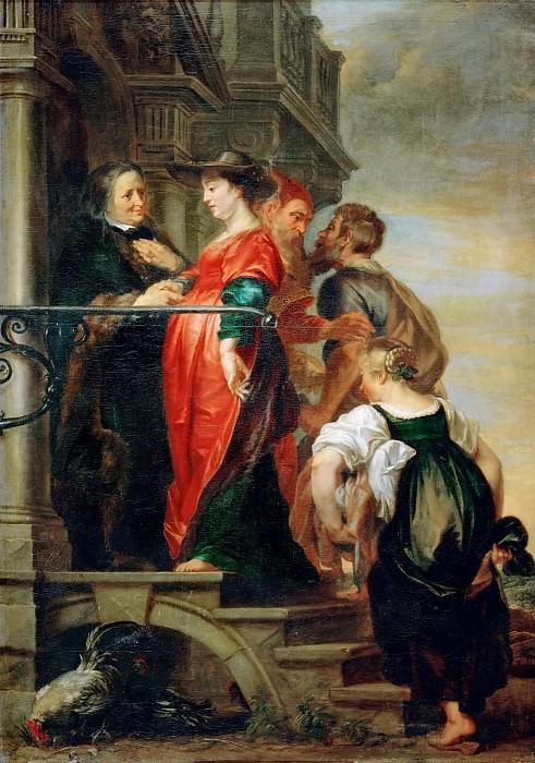 Theodor van Thulden -- The Visitation. Kunsthistorisches Museum