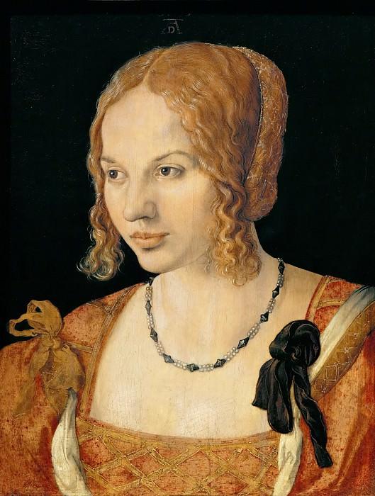 Альбрехт Дюрер - Портрет венецианки. Музей истории искусств