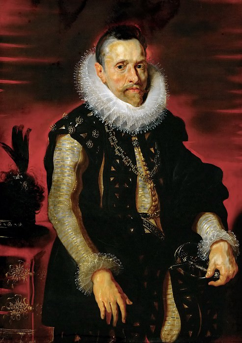 Albert VII, governor of the Southern provinces - 1609. Peter Paul Rubens