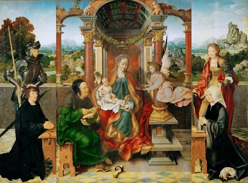 Joos van Cleve -- Altar. Kunsthistorisches Museum