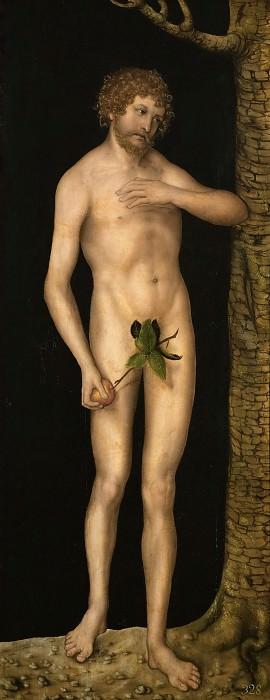 Лукас Кранах I - Адам. Музей истории искусств