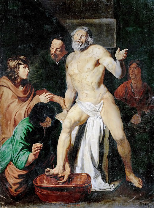 Attributed to Jacob I van Oost -- Death of Seneca. Kunsthistorisches Museum