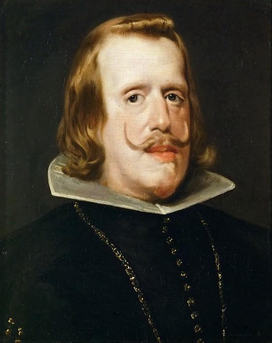 Портрет Филиппа IV, короля Испании. Диего Родригес де Сильва и Веласкес