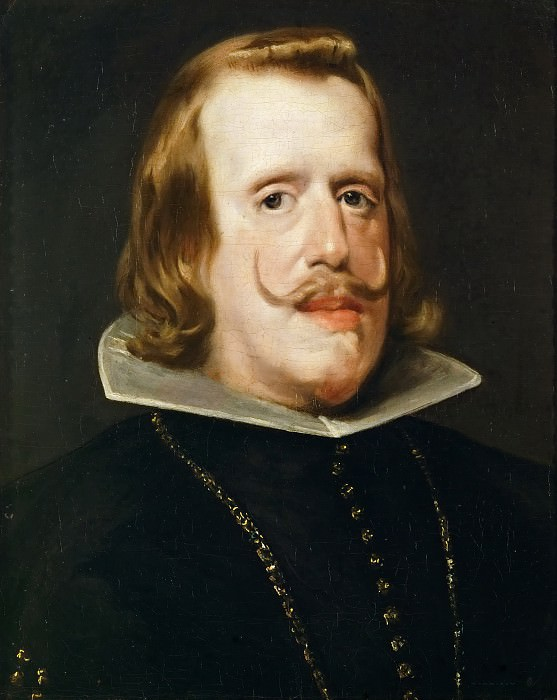Portrait of Philip IV, King of Spain. Diego Rodriguez De Silva y Velazquez