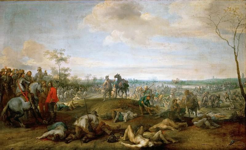 Peeter Snayers -- Field of Battle. Kunsthistorisches Museum