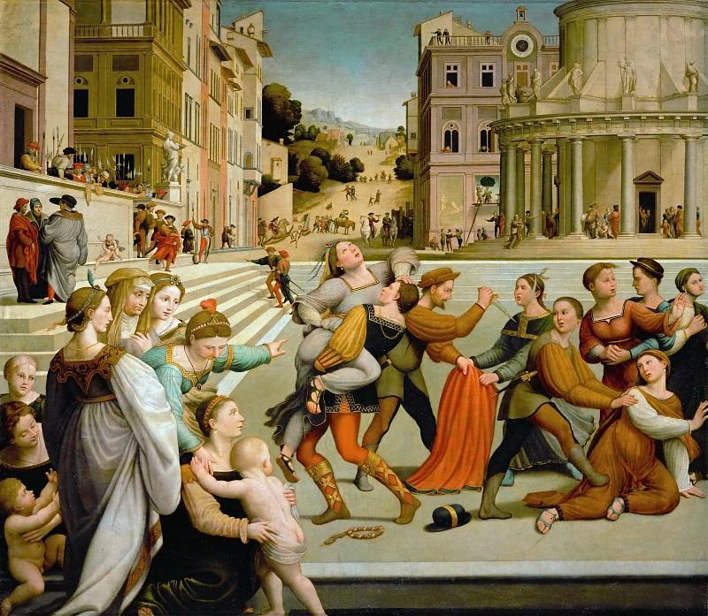 Джулиано Буджардини - Похищение Дины. Музей истории искусств