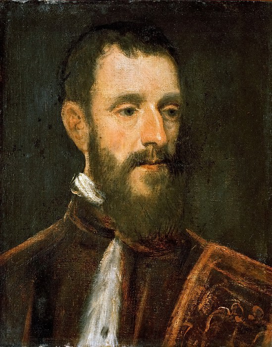 Jacopo Tintoretto -- Portrait of A Procurator. Kunsthistorisches Museum