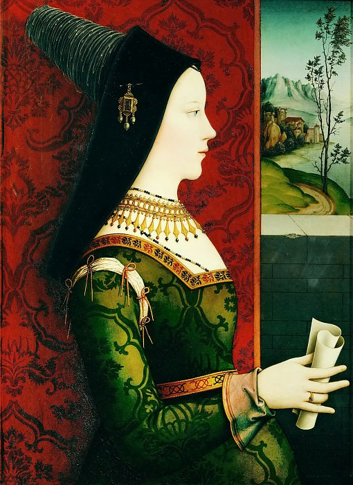 Niclas Reiser -- Mary of Burgundy (1457-1482). Kunsthistorisches Museum