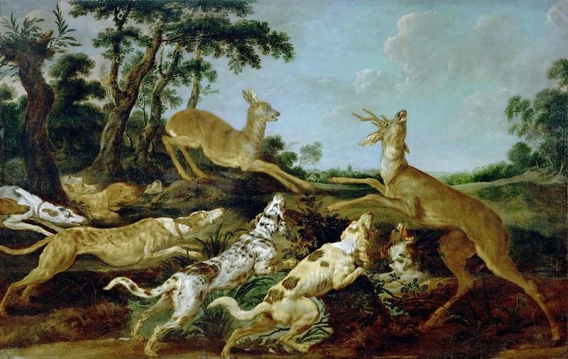 Paul de Vos -- Hunting Scene. Kunsthistorisches Museum
