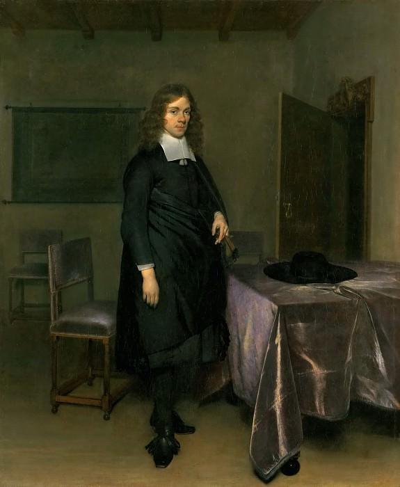 Gerard Terborch II -- Portrait of a Gentleman. Kunsthistorisches Museum