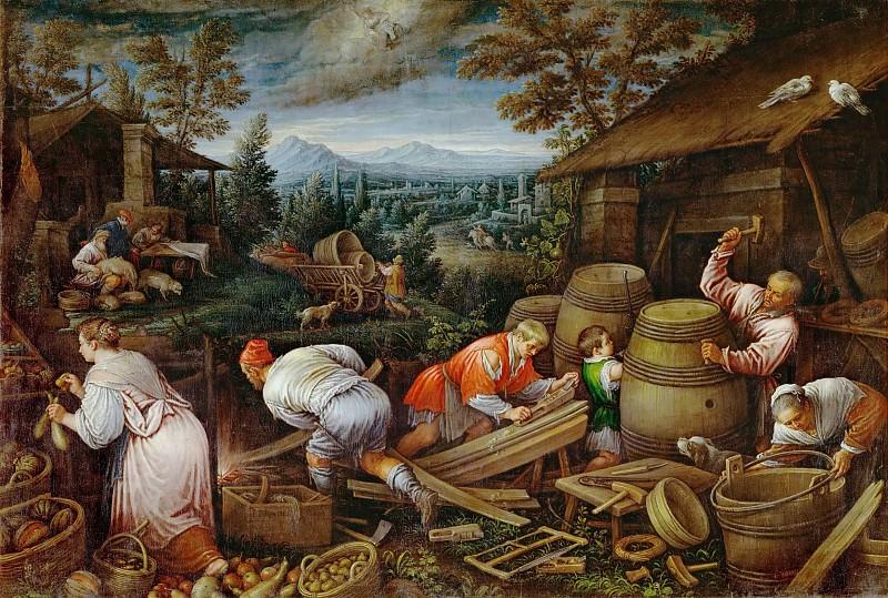 Leandro Bassano (1557-1622) -- August. Kunsthistorisches Museum