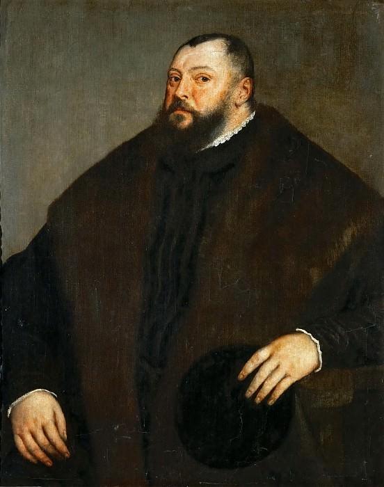Titian -- Elector Johann Friedrich of Saxony. Kunsthistorisches Museum