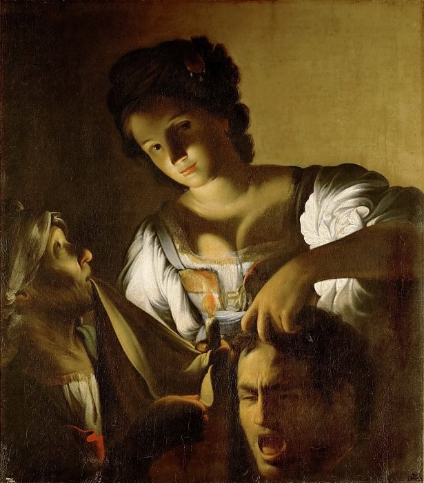 Carlo Saraceni (c. 1579-1620) -- Judith with the Head of Holofernes. Kunsthistorisches Museum