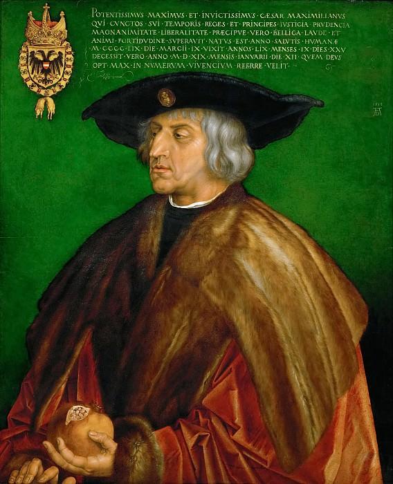 Albrecht Dürer -- Emperor Maximilian I. Kunsthistorisches Museum