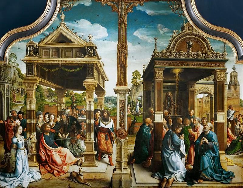 Bernaert van Orley -- Altar of Saints Thomas and Matthias. Kunsthistorisches Museum