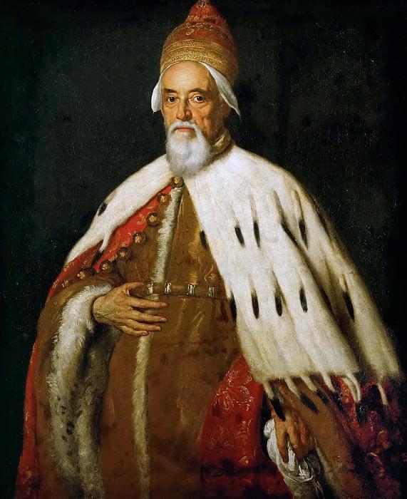 Bernardo Strozzi -- Doge Francesco Erizzo. Kunsthistorisches Museum