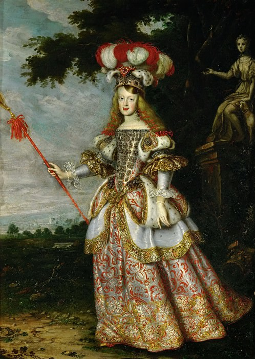 Jan Thomas -- Margarita Teresa in a theatrical costume. Kunsthistorisches Museum