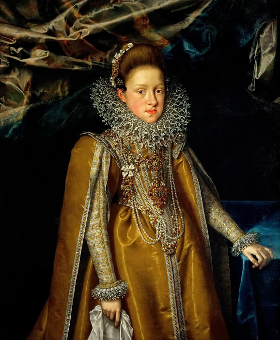 Frans Pourbus the Younger (1569-1622) -- Archduchess Maria Magdalena (1571-1631). Kunsthistorisches Museum