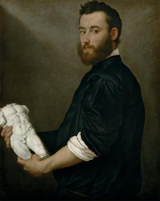 The Sculptor Alessandro Vittoria -- 1552. Kunsthistorisches Museum