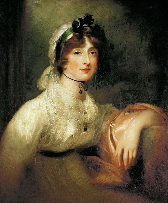 Thomas Gainsborough -- Diana Stewart. Kunsthistorisches Museum
