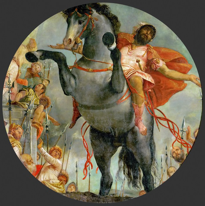Paolo Veronese -- Marcus Curtius Sacrifices his Life. Kunsthistorisches Museum