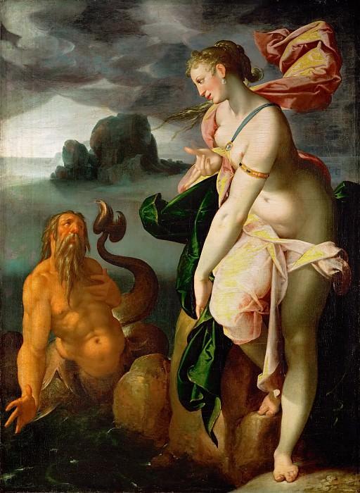 Бартоломеус Спрангер - Главк и Скилла. Музей истории искусств