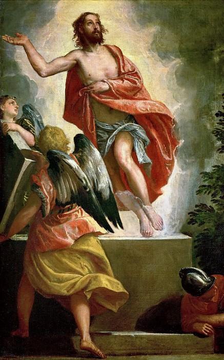 Веронезе, мастерская - Воскресение Христа. Музей истории искусств