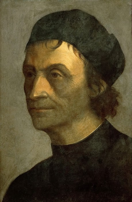 Sebastiano del Piombo (c. 1485-1547) -- Portrait of a Priest from the Papal Court. Kunsthistorisches Museum