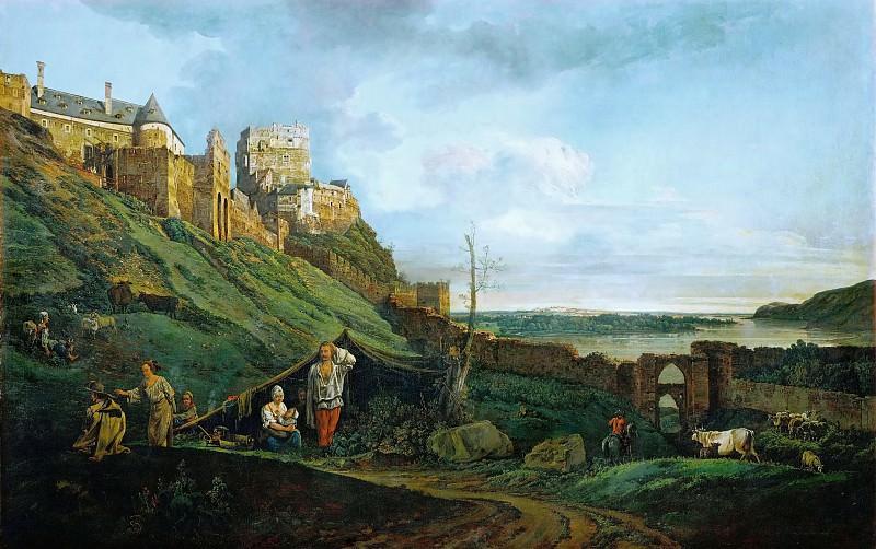 Bernardo Bellotto (1721-1780) -- Ruins of Theben an der March, Austria. Kunsthistorisches Museum