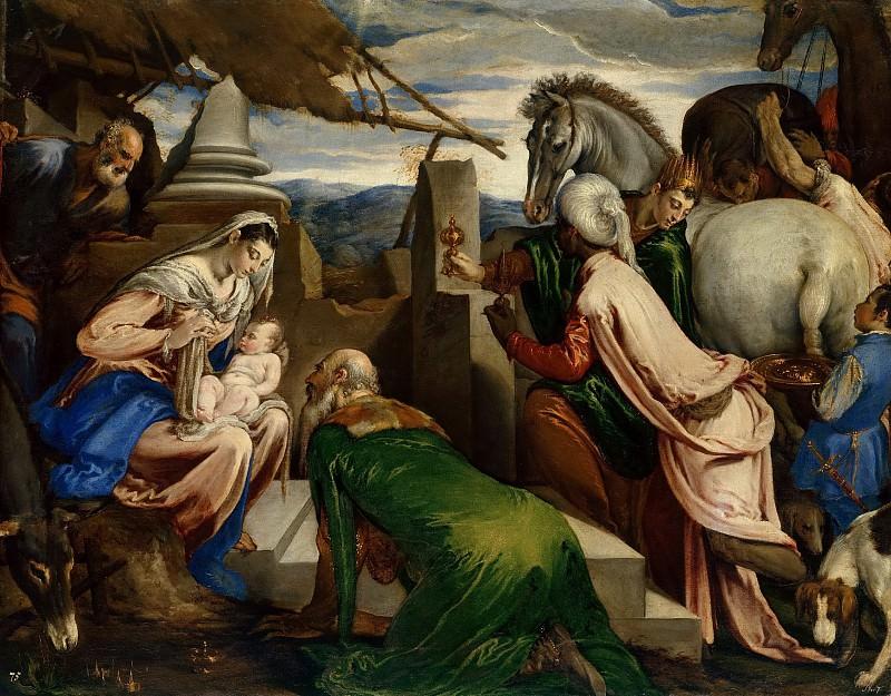 Якопо Бассано - Поклонение волхвов. Музей истории искусств