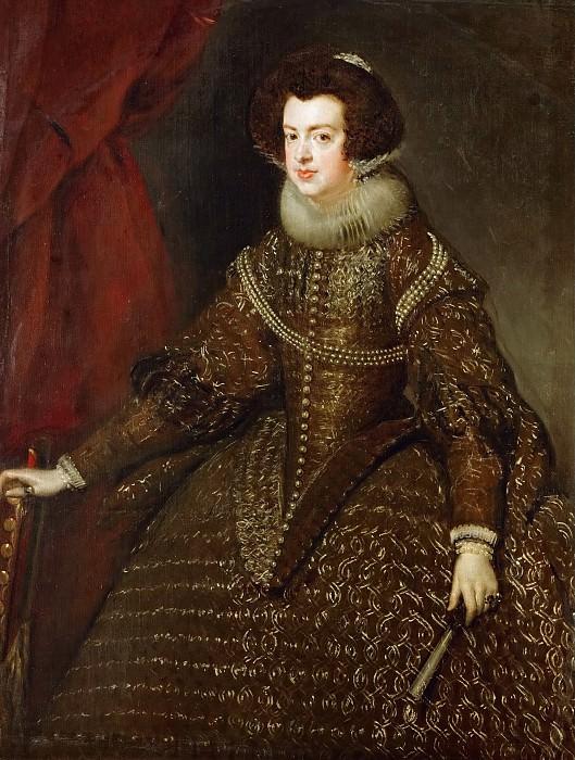 Diego Velázquez -- Isabella, Queen of Spain. Kunsthistorisches Museum