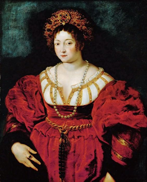 Peter Paul Rubens -- Isabella d'Este. Kunsthistorisches Museum