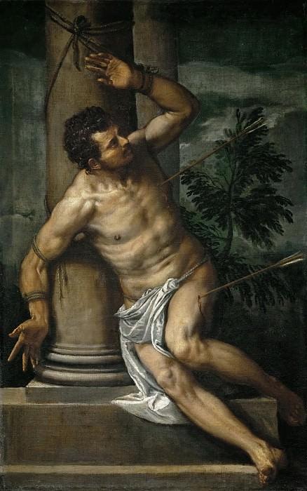 Paolo Veronese -- Saint Sebastian. Kunsthistorisches Museum