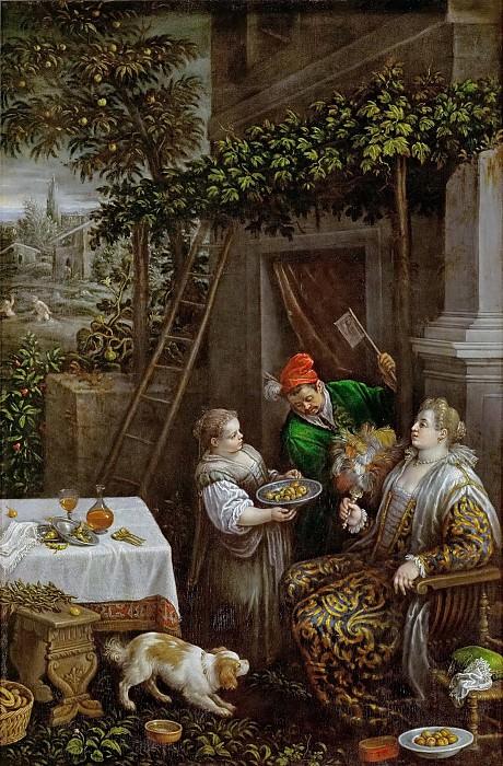 Leandro Bassano (1557-1622) -- July (Summer). Kunsthistorisches Museum
