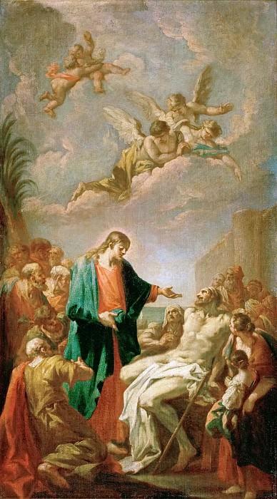 Giovanni Antonio Pellegrini (1675-1741) -- Healing of the Paralytic. Kunsthistorisches Museum