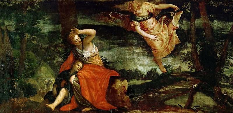 Paolo Veronese -- Hagar and Ismael in the Desert of Bersheeba. Kunsthistorisches Museum