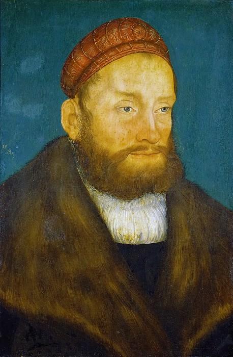 Lucas Cranach the elder -- Margrave Casimir von Brandenburg-Culmbach. Kunsthistorisches Museum