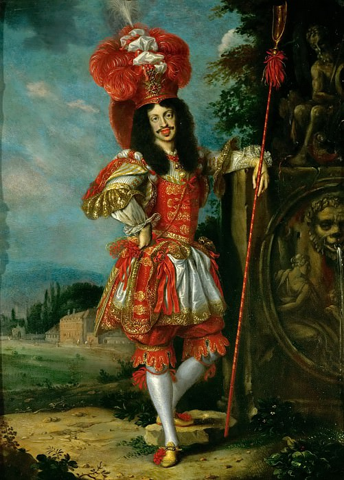Jan Thomas -- Emperor Leopold I in Theatrical Costume. Kunsthistorisches Museum