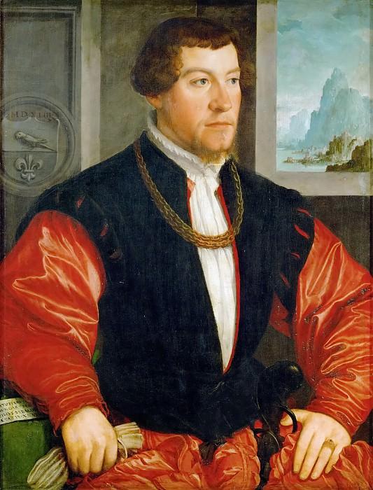 Amberger,Christoph -- Christoph Baumgartner (1513-1586), 1543 Limewood, 83 x 62,3 cm Inv. 889. Kunsthistorisches Museum