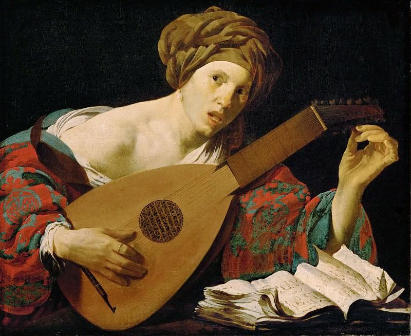 Hendrick ter Brugghen -- Lute Player. Kunsthistorisches Museum