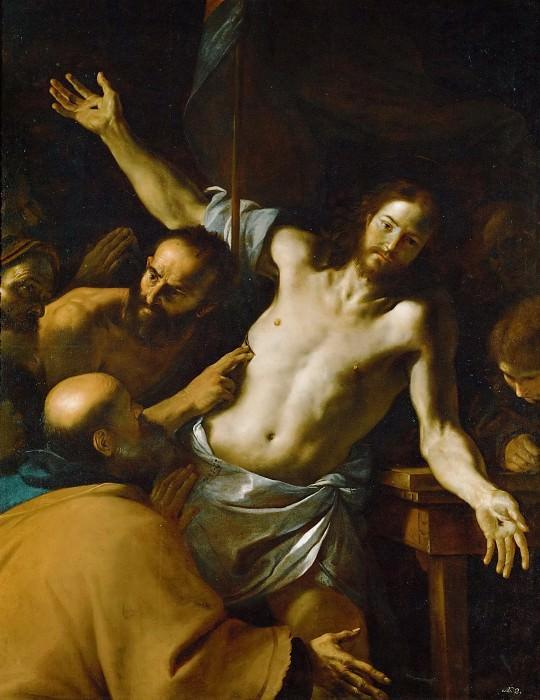 Mattia Preti (1613-1699) -- Doubting Thomas. Kunsthistorisches Museum