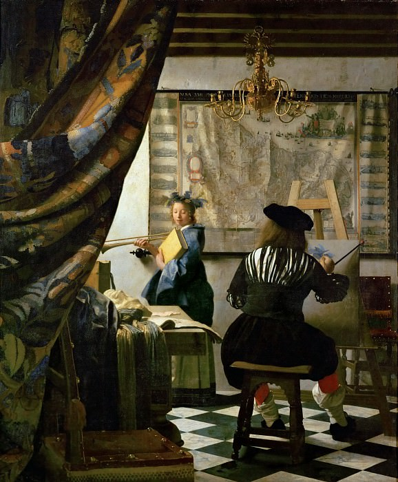 Jan Vermeer - The Art of Painting. Kunsthistorisches Museum
