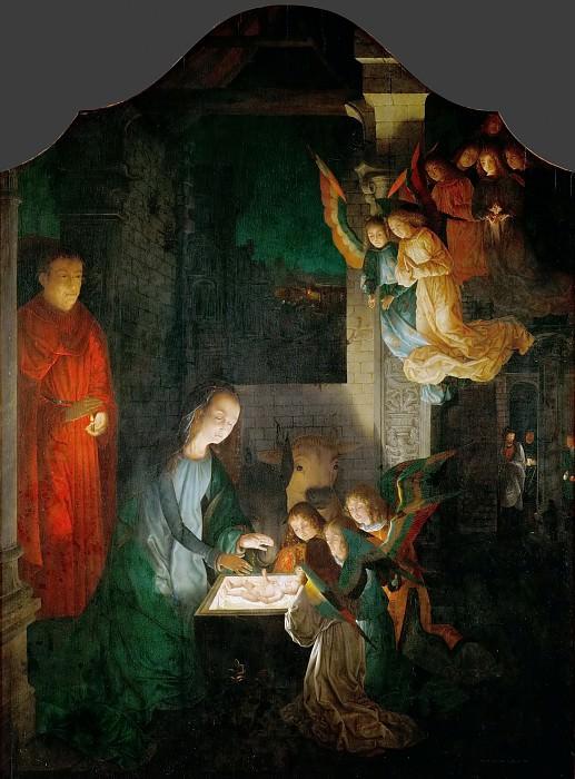 Michael Sittow (c. 1468-1525 or 1526) -- Nativity. Kunsthistorisches Museum